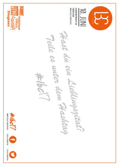 LBC Postkarte Rückseite