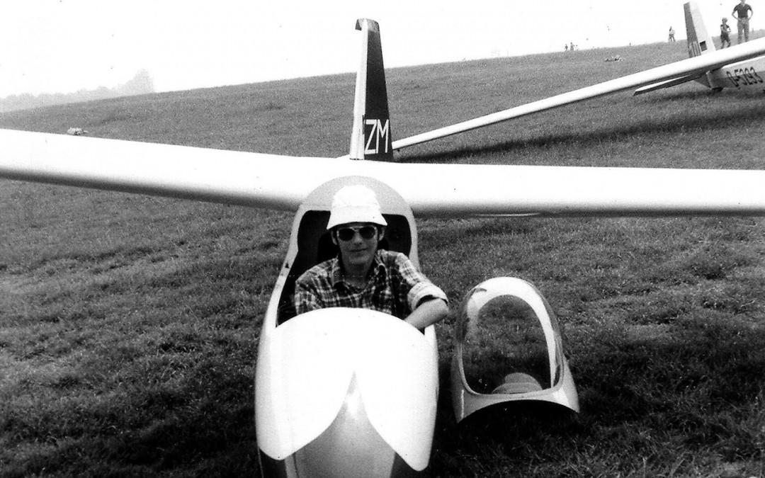 Das Schreiben und das Fliegen
