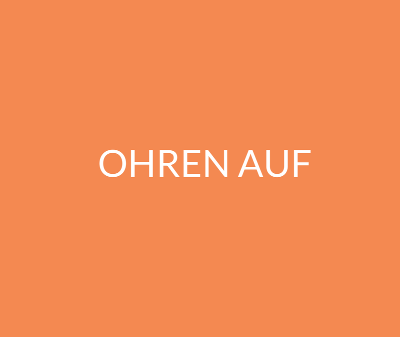 Martha Schoknecht on air: Ein Blick hinter die Kulissen von Hörbuchproduktionen