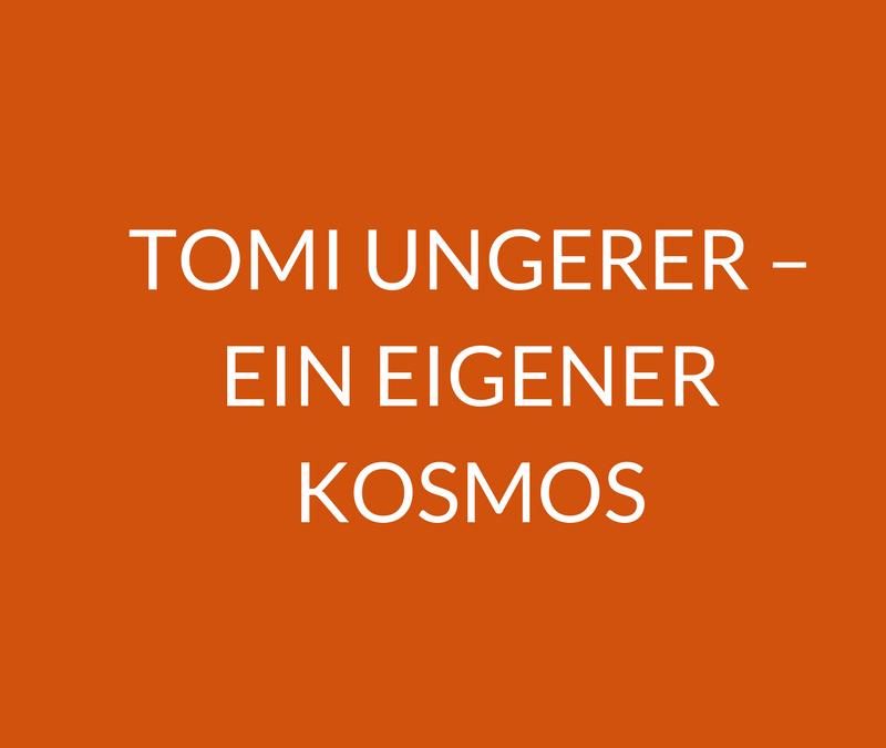 Lektorin Margaux de Weck spricht über das Multitalent Tomi Ungerer