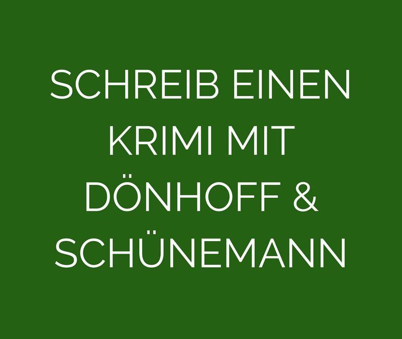 Die Autoren Friedrich Dönhoff und Christian Schünemann erzählen, wie man einen Kriminalroman schreibt