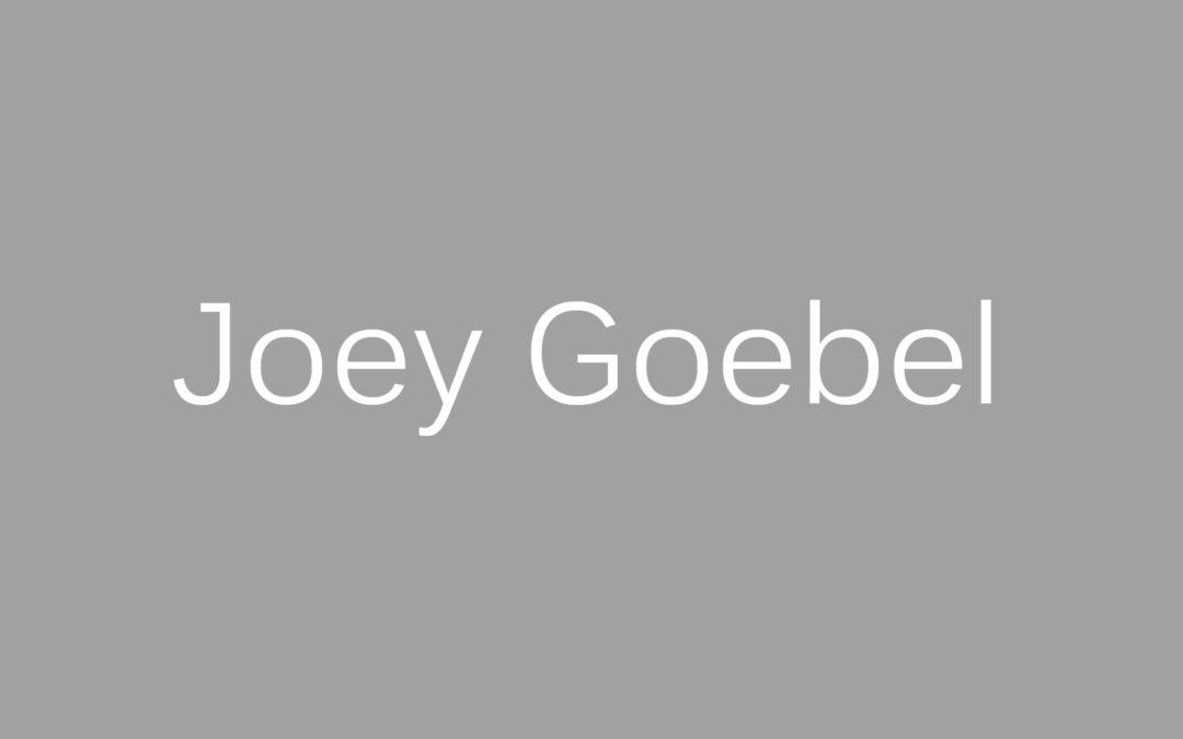 Joey Goebel – Kultautor aus der amerikanischen Provinz und ein Lieblingsautor von Benedict Wells